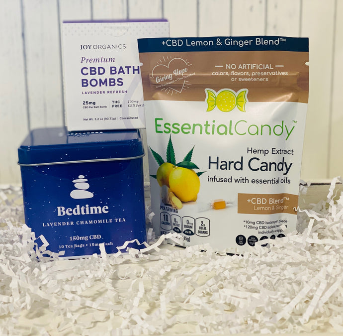 Get Well Soon CBD Gift Set