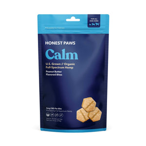 Honest Paws Calm Peanut Butter CBD Dog Bites