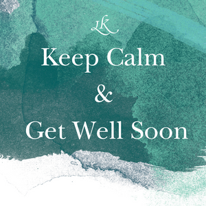 Get well soon greeting card - LivKind CBD Wellness Gifts