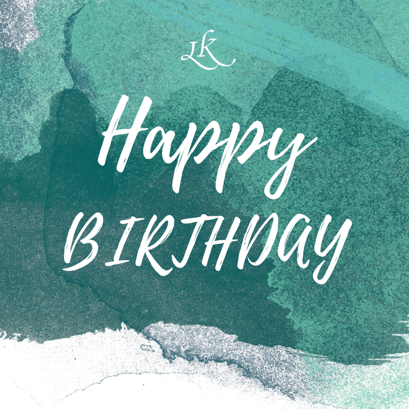 Happy Birthday Card - LivKind CBD Wellness Gifts