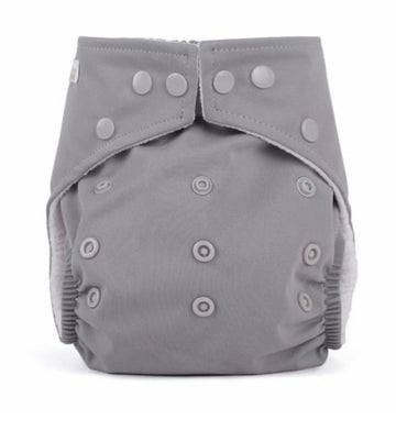 One Size Reusable Nappy - Grey