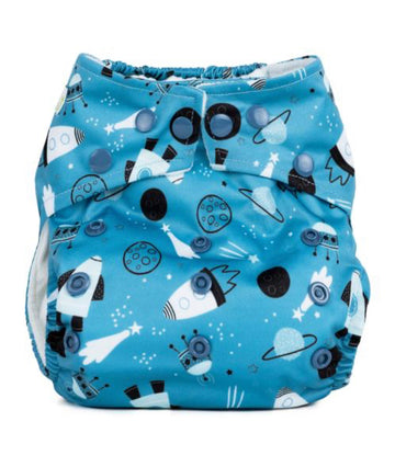 One Size Reusable Nappy - Shoot For The Moon