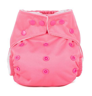 One Size Reusable Nappy - Bubblegum Pink