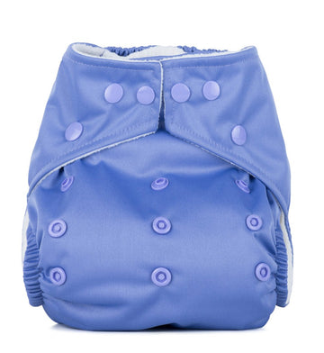 One Size Reusable Nappy - Lavender