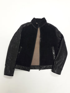 Sergio Leather Coat
