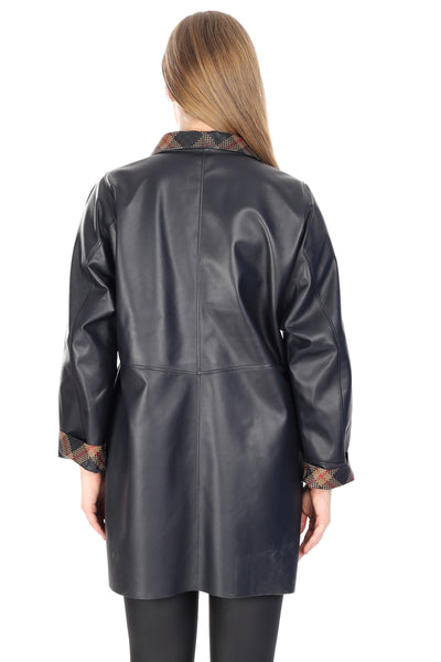 Rayna Women Leather Jacket