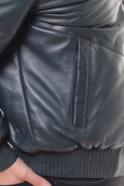 Pellucid Leather Coat