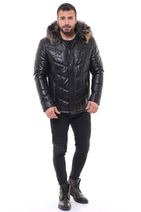 Micheal Leather Coat