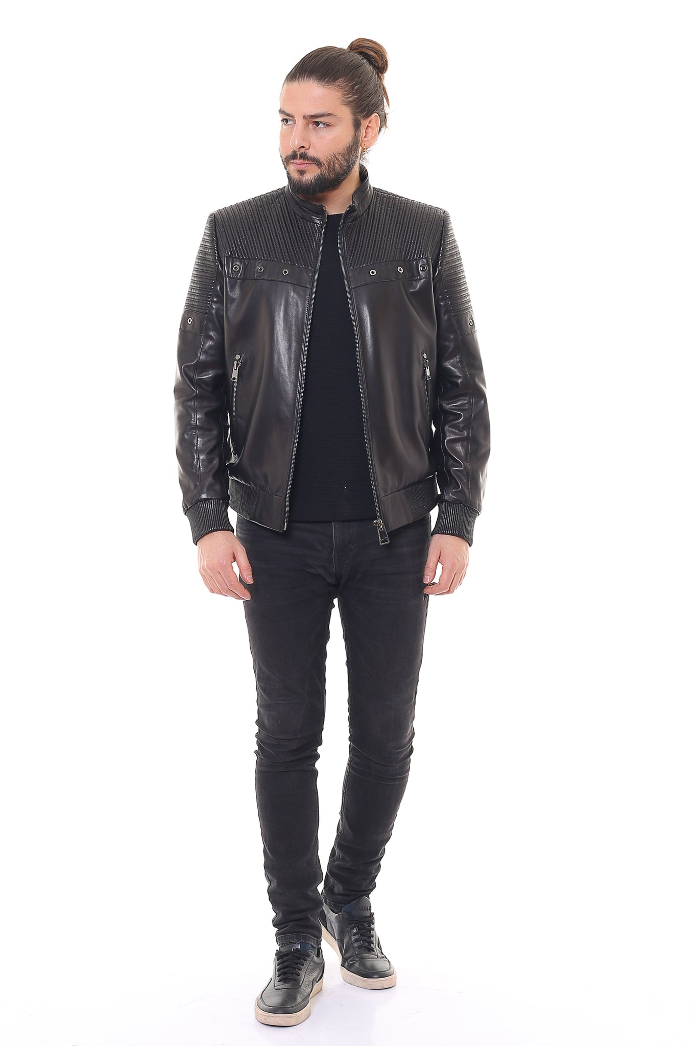Paul Leather Jacket