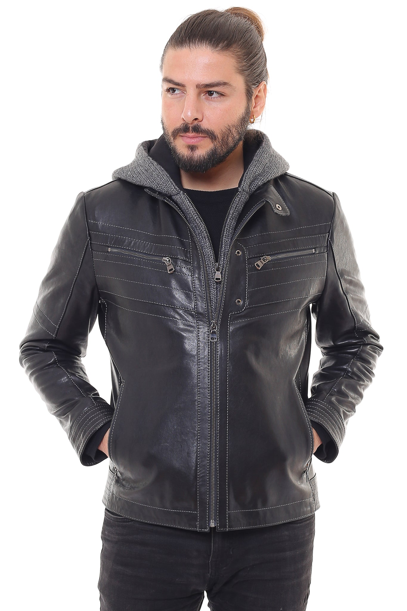 Austere Leather Jacket