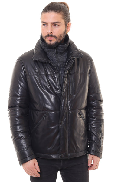 Darwin Leather Coat
