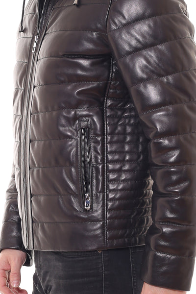 Matthew Leather Coat