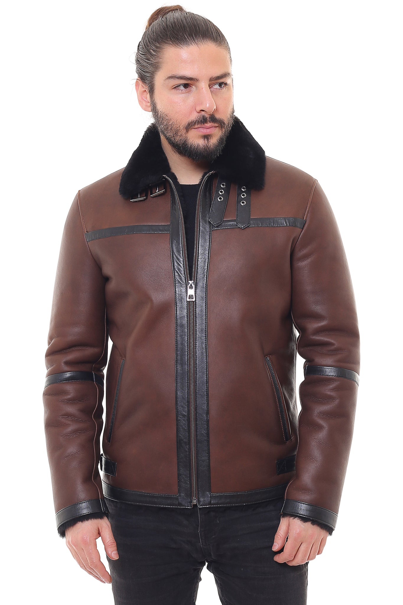 Grata Sheepskin Shearling Jacket