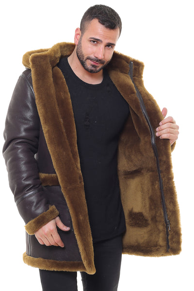 Astra Sheepskin Shearling Jacket