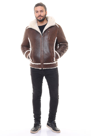 Gokotta Sheepskin Shearling Jacket