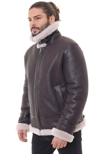 Abis Sheepskin Shearling Jacket