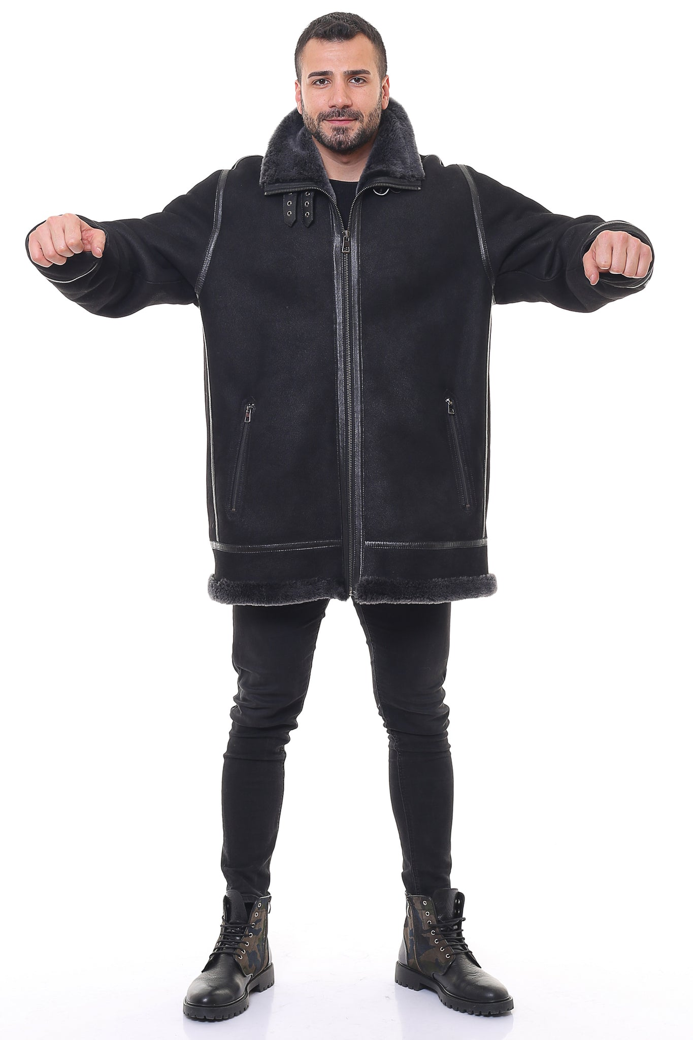 Taurus Sheepskin Shearling Jacket