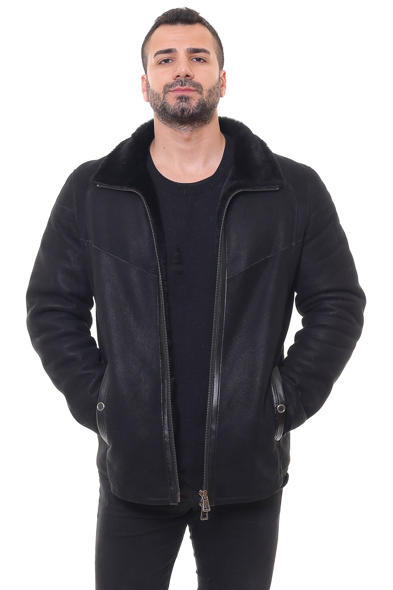 Iptila Sheepskin Shearling Jacket