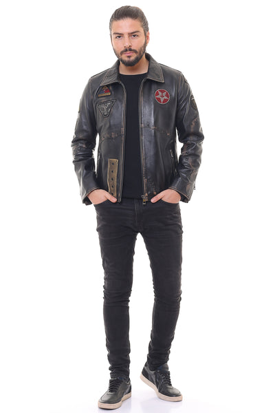 Palatino Leather Jacket