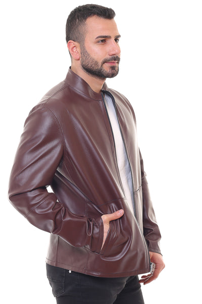 Steven Reversible Leather Jacket