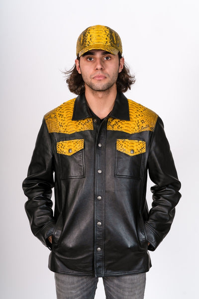Mac Leather Jacket