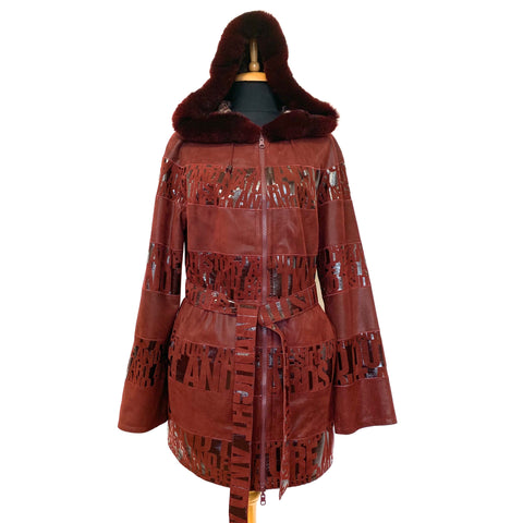 Betula Leather Coat