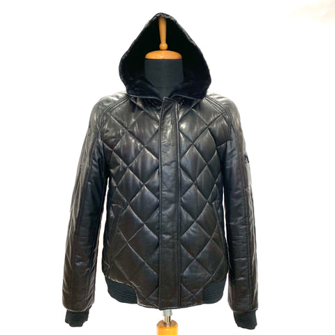 Borga Leather Coat