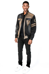Huffy Leather Jacket