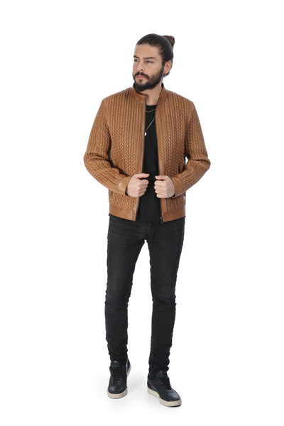Walenkino Blazer Leather Jacket