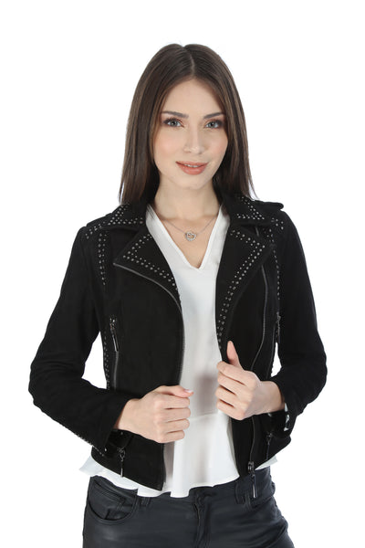 Bianca Women Leather Jacket