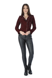 Carmela Women Leather Jacket