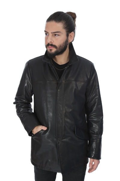 Minas Leather Jacket