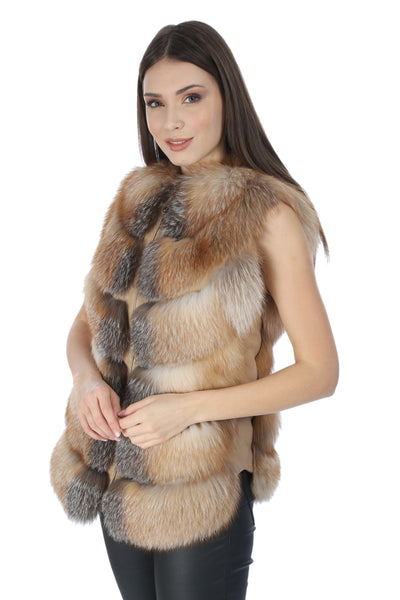 Virendra Women Fox Fur