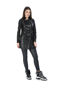 Avery Women Leather Jacket