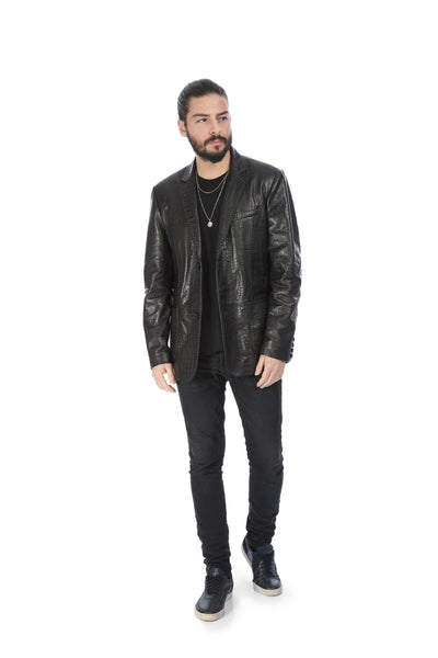 Unicus Blazer Leather Jacket