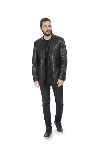 Varro Blazer Leather Jacket