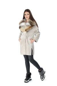 Cahya Women Persian Lamb Coat