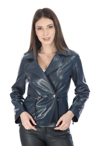Dylan Women Leather Jacket