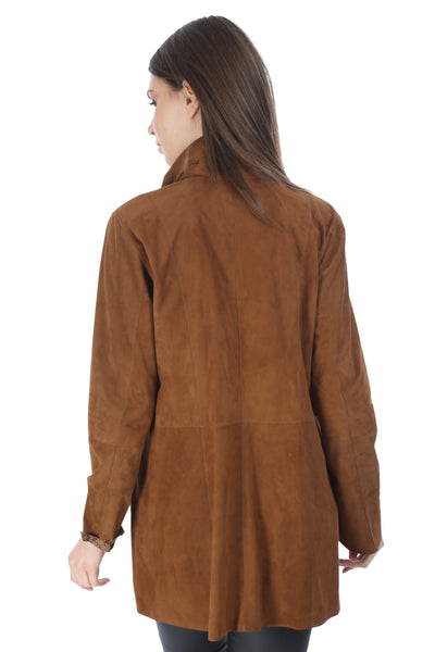 Amelia Women Leather Jacket