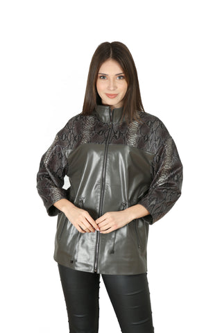 Alyssa Women Leather Jacket