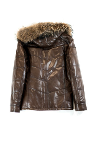 Dimitri Leather Coat
