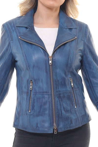 Allegra Women Leather Jacket