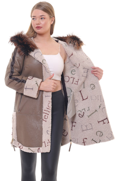 Daphne Persian Lamb Coat