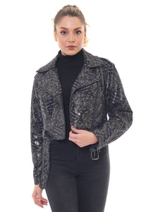 Nola Women Leather Jacket