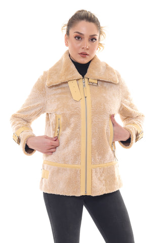 Anemone Persian Lamb Coat
