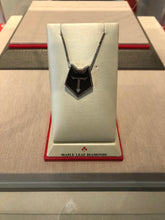 Load image into Gallery viewer, Maple Leaf Diamonds-Black Wolfpack Logo Necklace