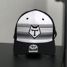 Load image into Gallery viewer, 47 Brand Black and White Curved Snapback - COMING SOON