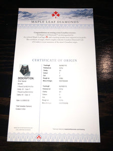Maple Leaf Diamonds-Wolfpack Logo Pin