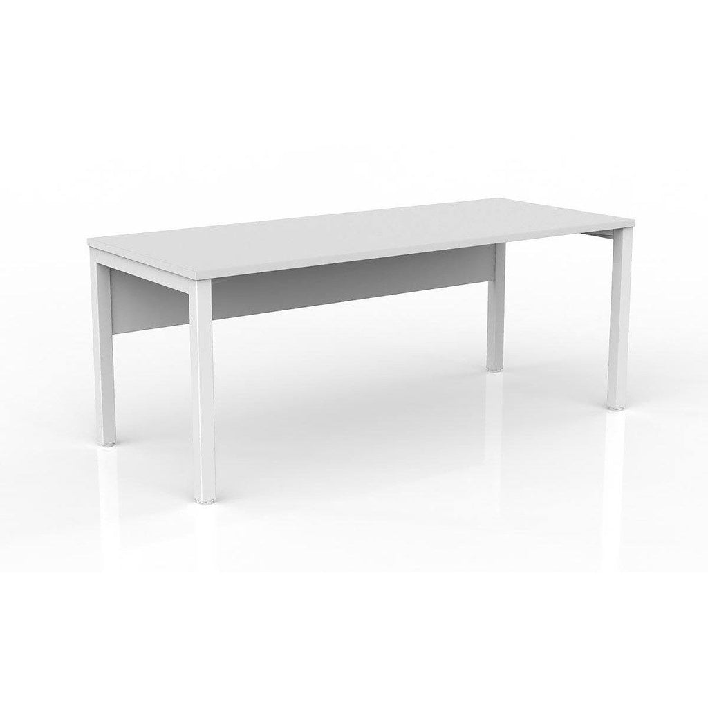 Axis Straight Desk with Modesty