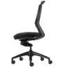 Aveya Black Mesh Back Ergonomic Office Chair  AFRDI Level 6 Certified Without Arms Side View